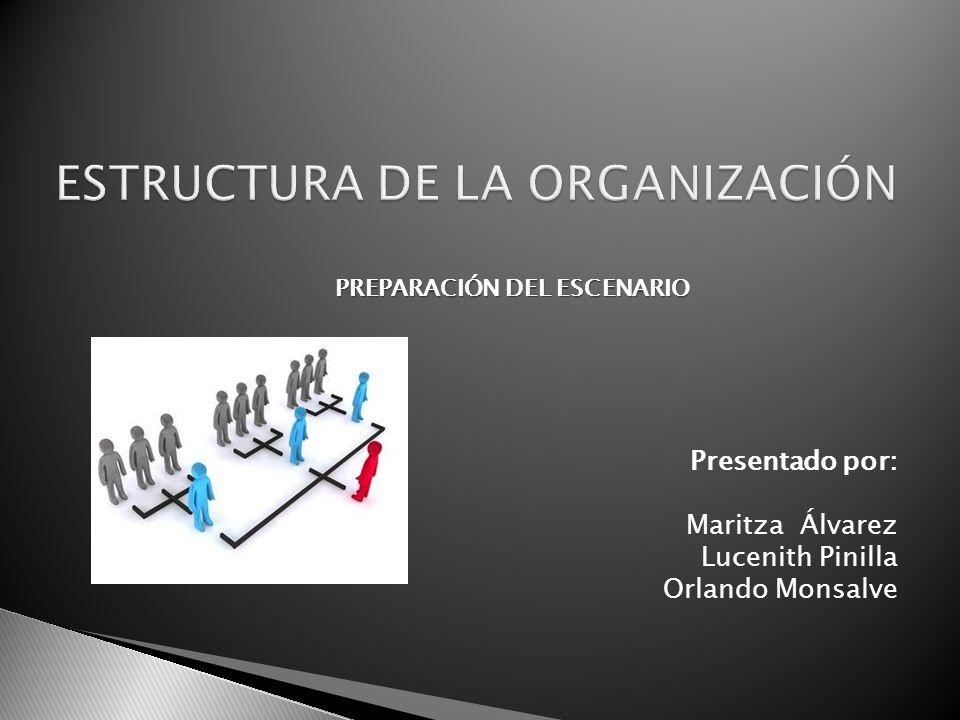 ESTRUCTURA DE LA ORGANIZACIÓN