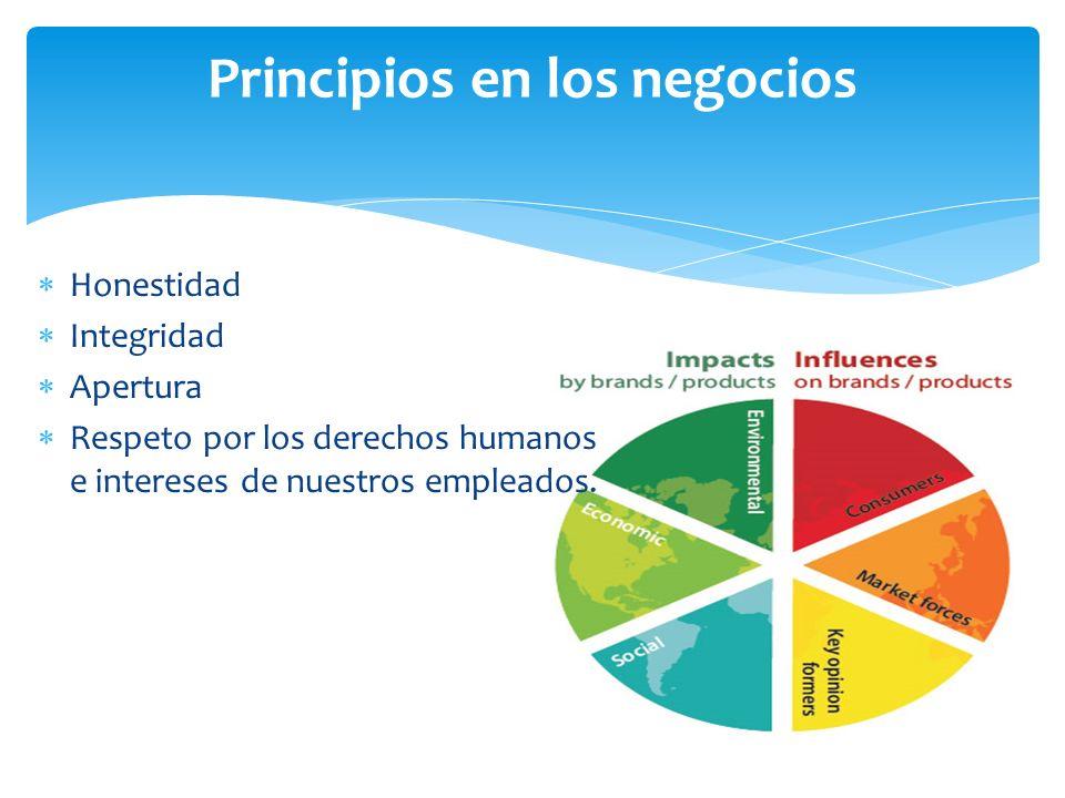 Principios en los negocios