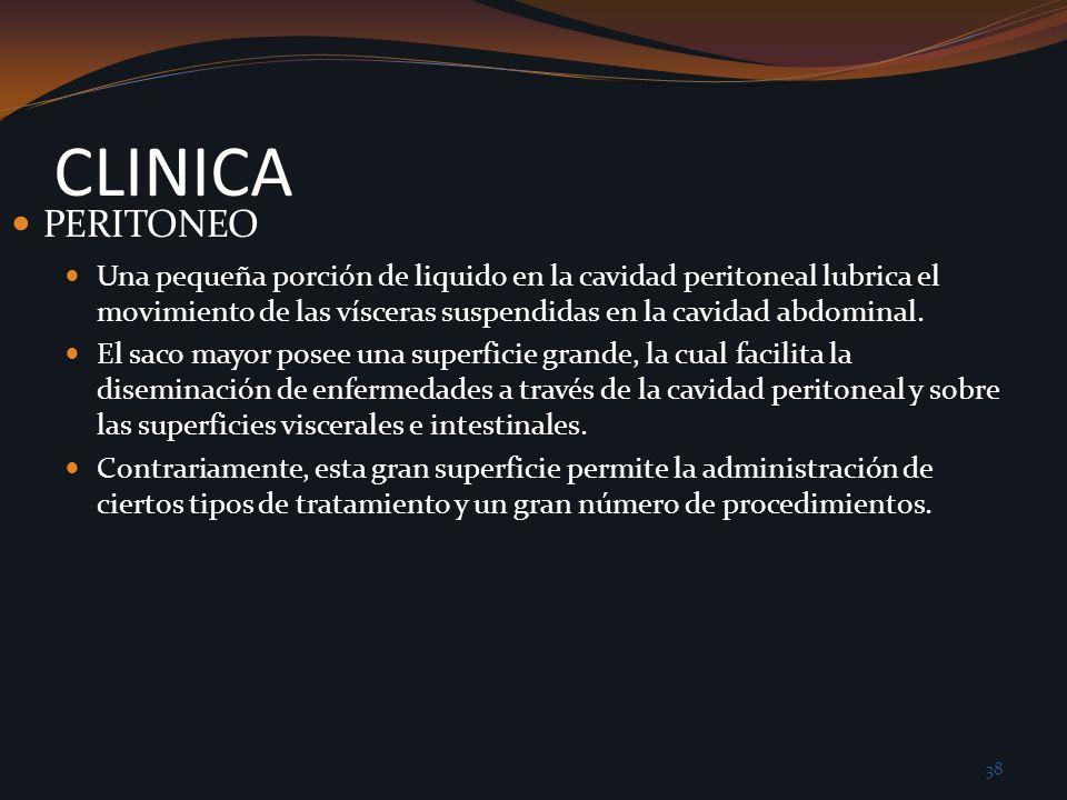 CLINICA PERITONEO.