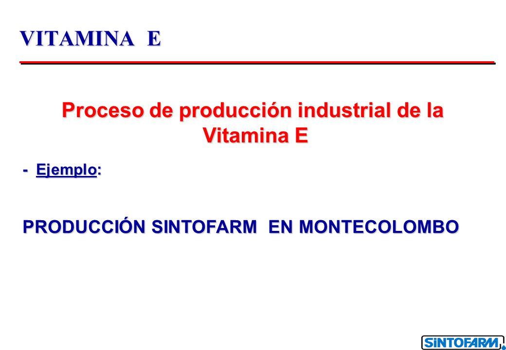Proceso de producción industrial de la