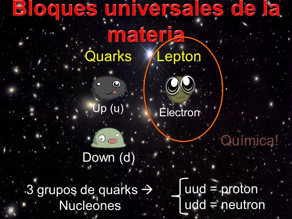 Bloques universales de la materia