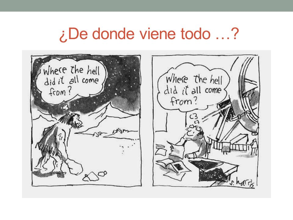 ¿De donde viene todo … What is the matter 13 March 1998
