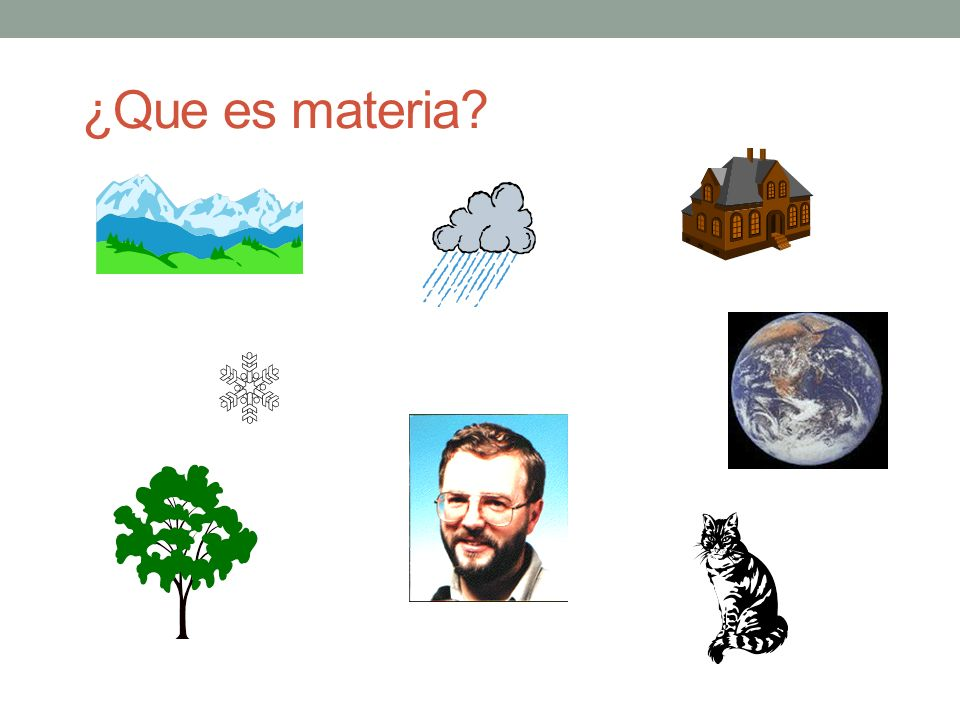¿Que es materia What is the matter 13 March 1998