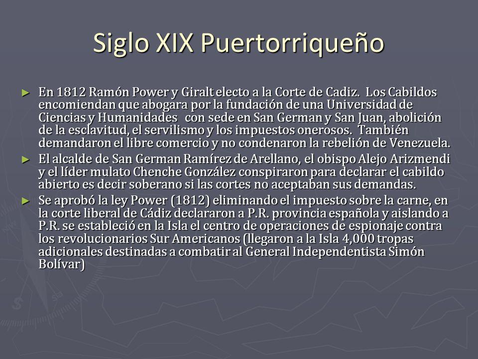 Siglo XIX Puertorriqueño