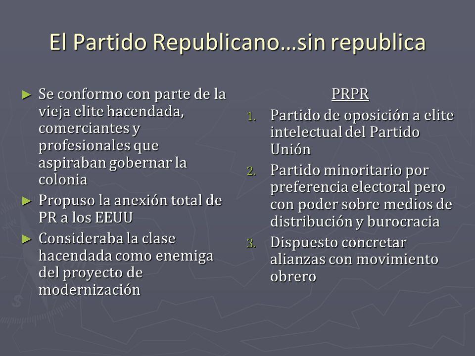 El Partido Republicano…sin republica