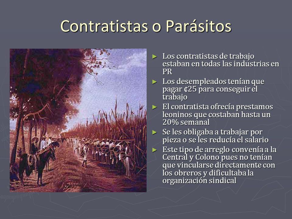 Contratistas o Parásitos