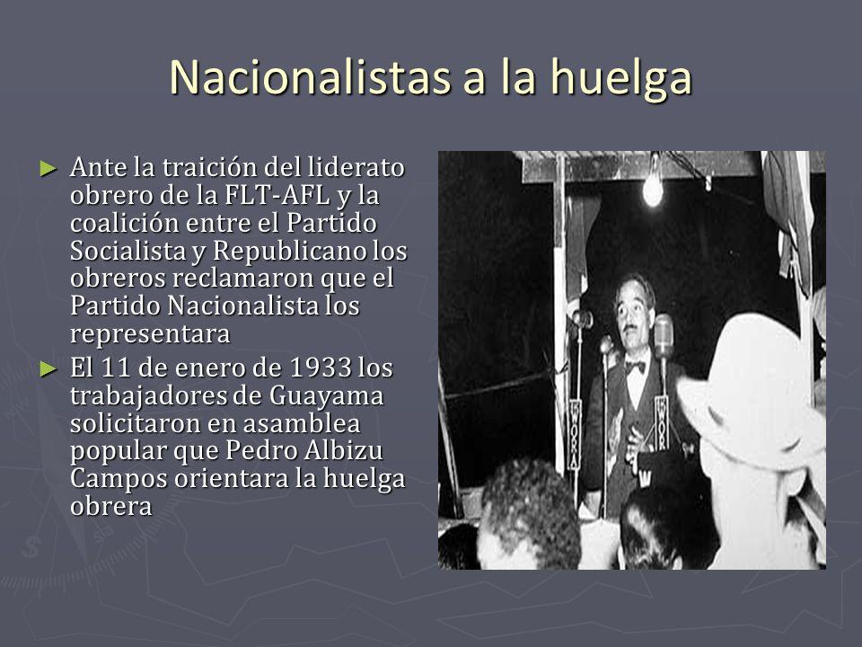 Nacionalistas a la huelga