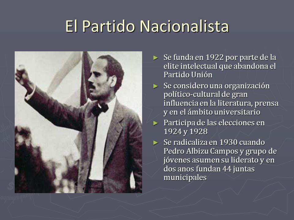 El Partido Nacionalista