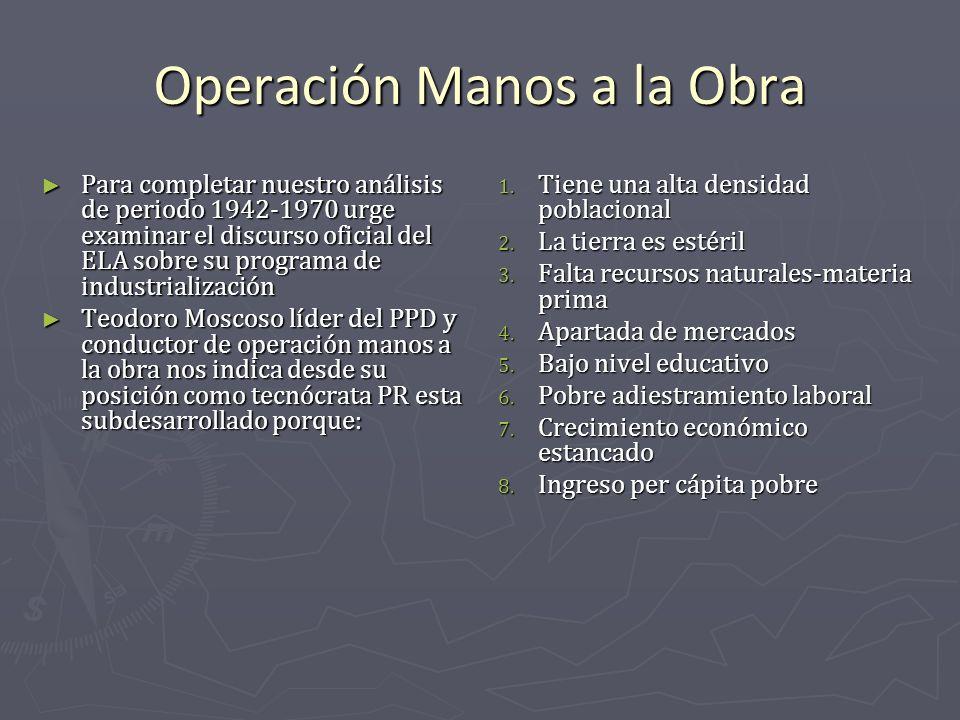 Operación Manos a la Obra