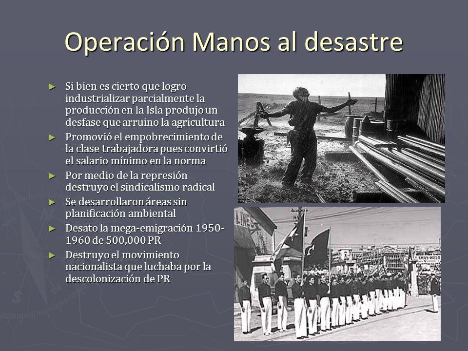 Operación Manos al desastre