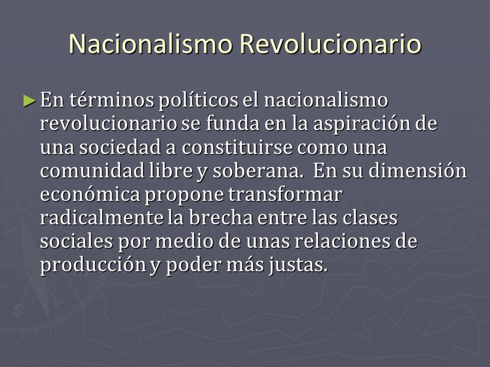 Nacionalismo Revolucionario