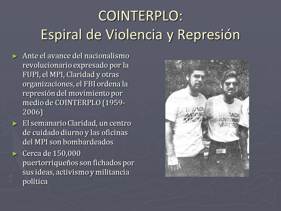COINTERPLO: Espiral de Violencia y Represión