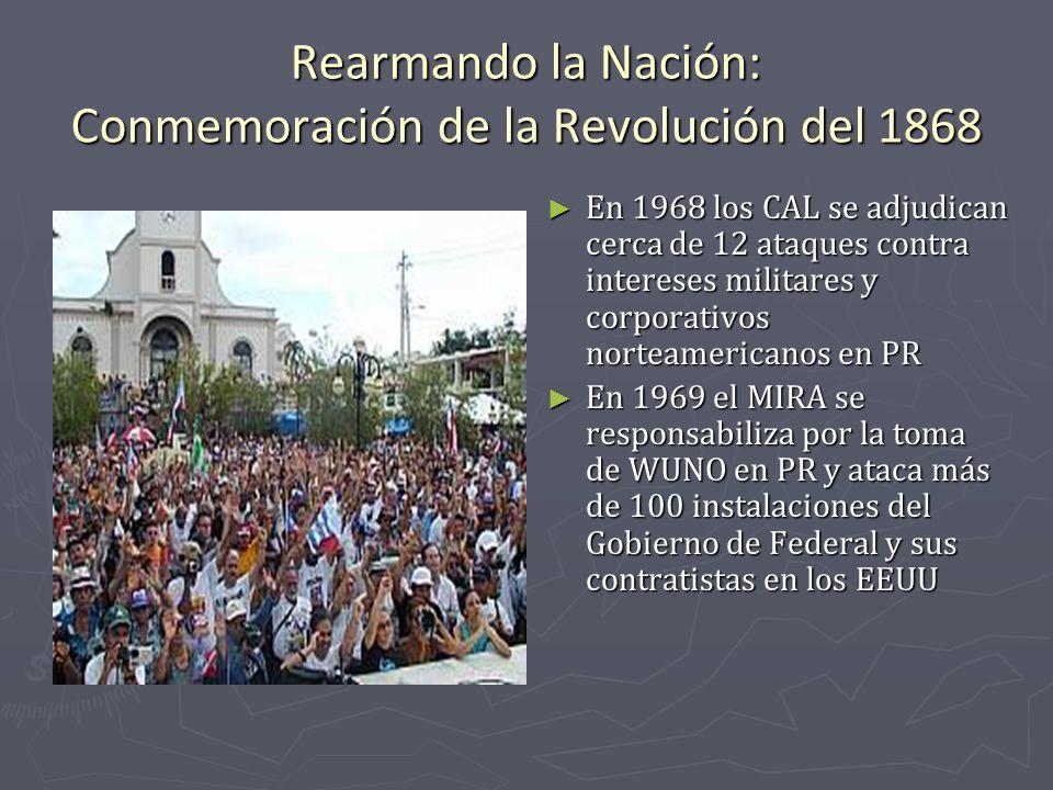 Rearmando la Nación: Conmemoración de la Revolución del 1868