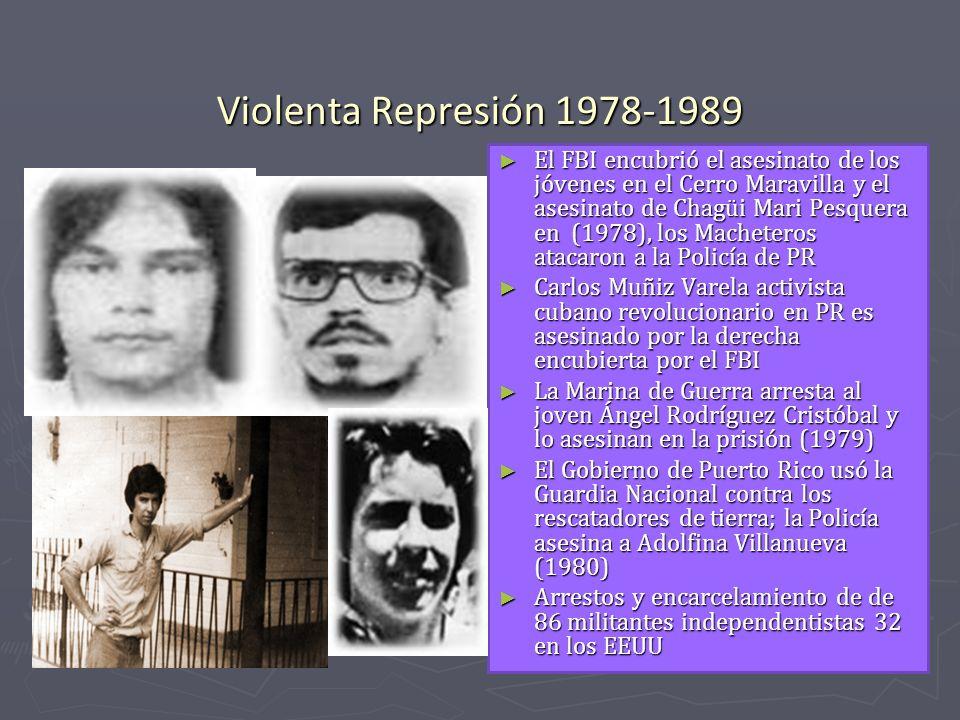 Violenta Represión 1978-1989