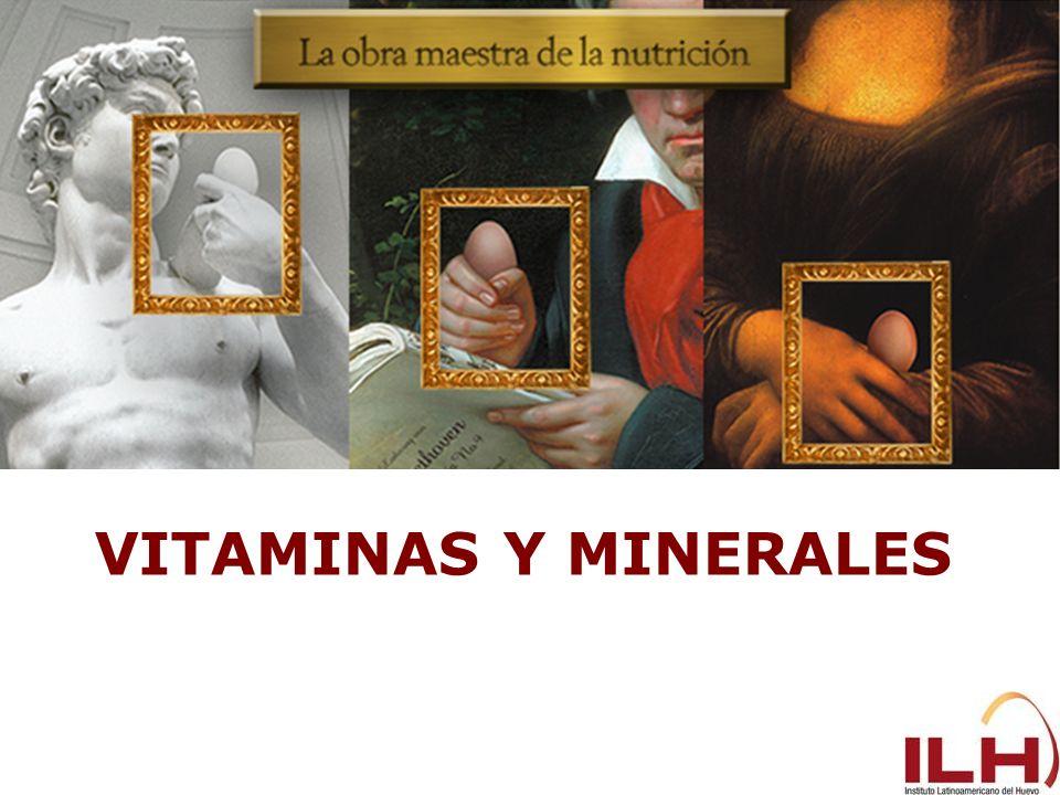 Vitaminas y minerales