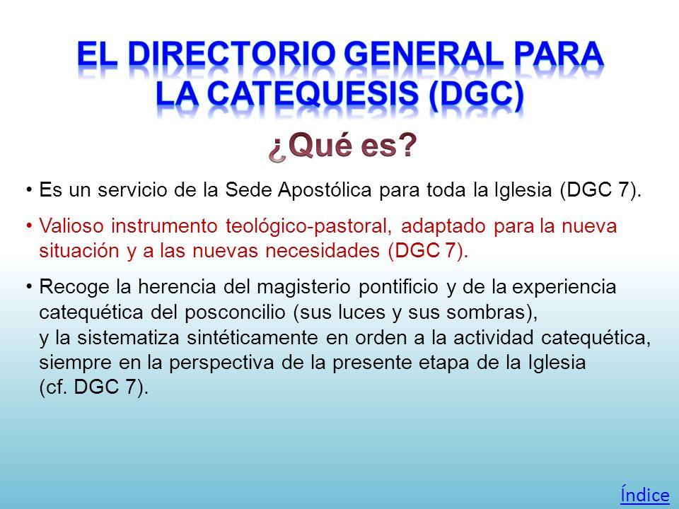 El Directorio General para la Catequesis (DGC)