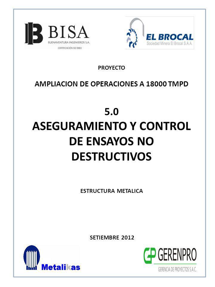 ASEGURAMIENTO Y CONTROL DE ENSAYOS NO DESTRUCTIVOS
