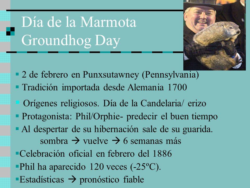 Día de la Marmota Groundhog Day