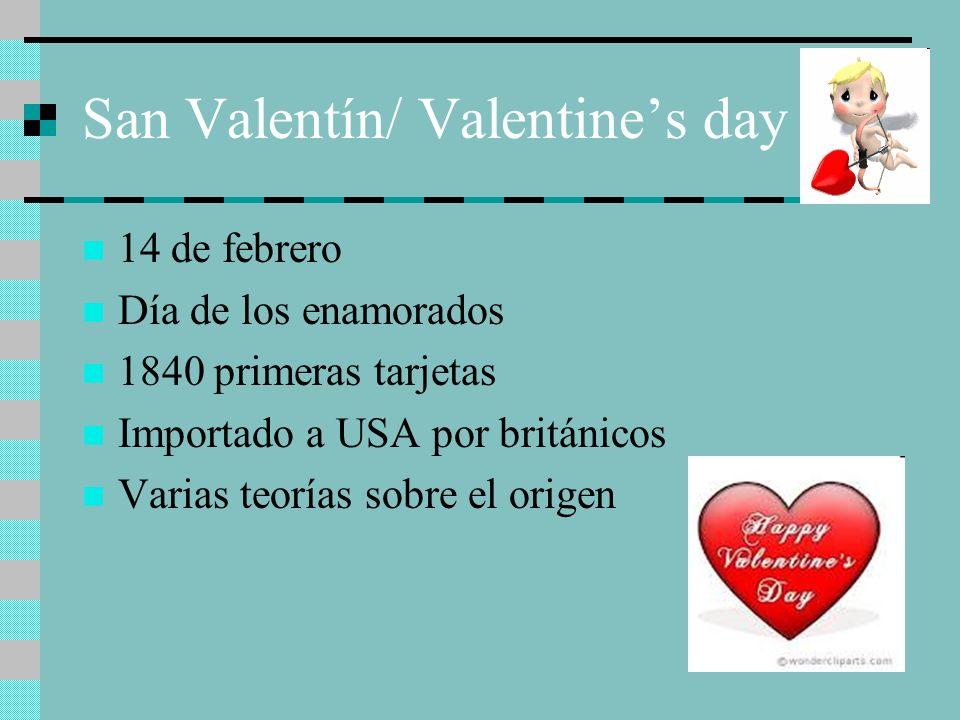 San Valentín/ Valentine's day
