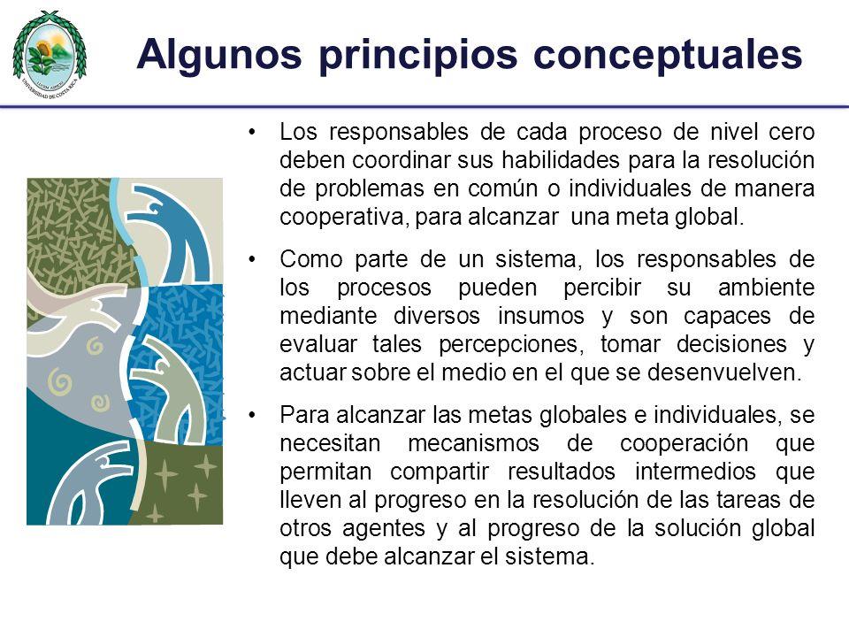 Algunos principios conceptuales