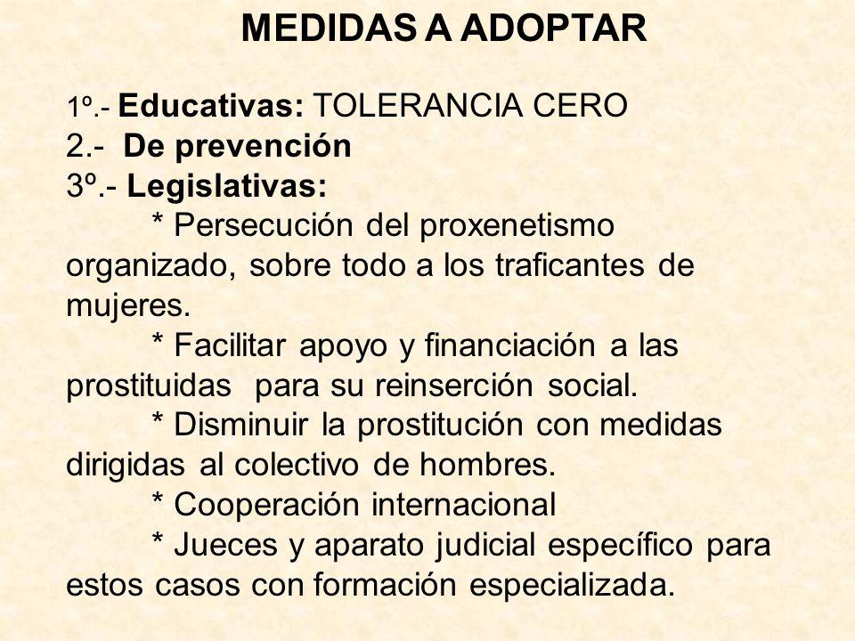 * Cooperación internacional
