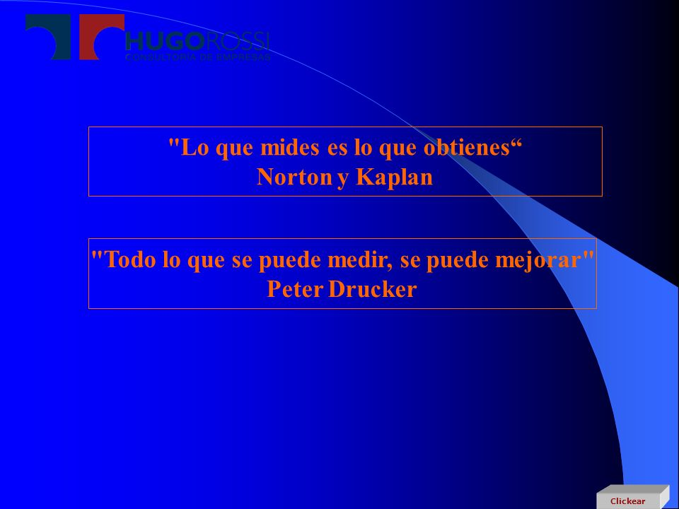 Lo que mides es lo que obtienes Norton y Kaplan