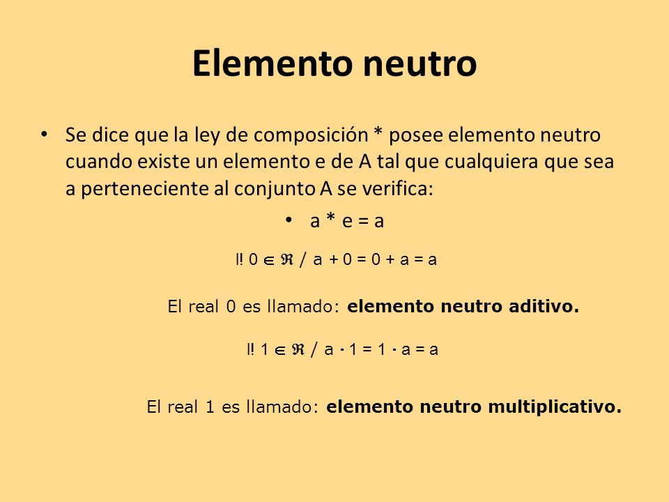 Elemento neutro
