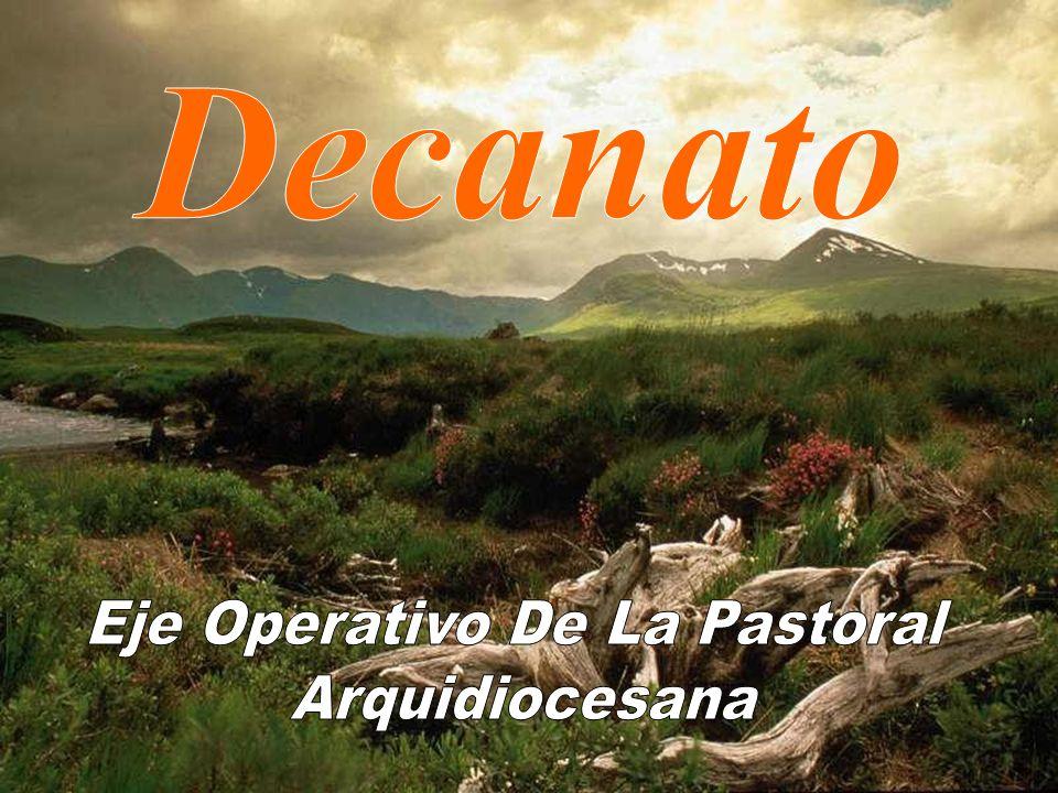 Eje Operativo De La Pastoral