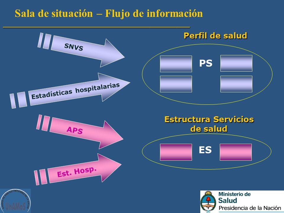 Estructura Servicios de salud