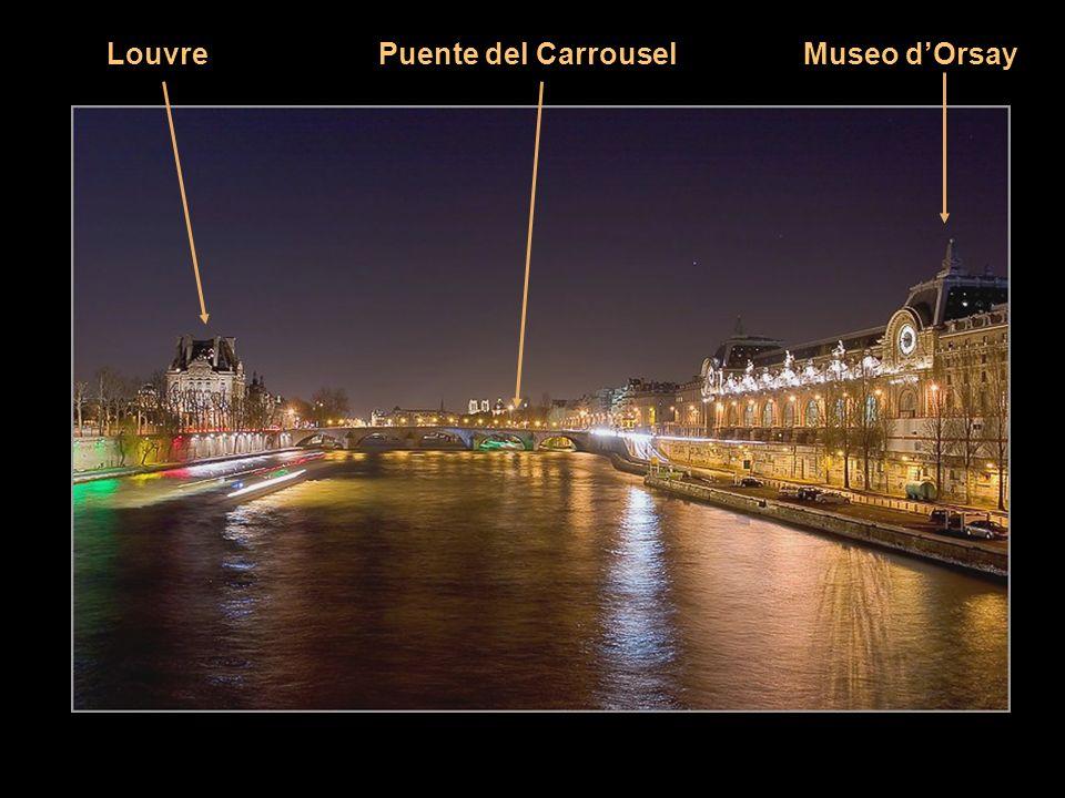 Louvre Puente del Carrousel Museo d'Orsay