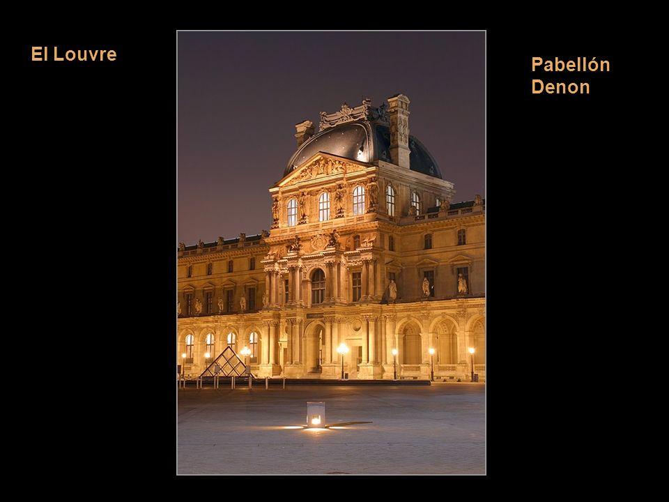 El Louvre Sinónimo de obra perpetua. ¿Cuántos años de obras 200, 300 o más Pabellón Denon