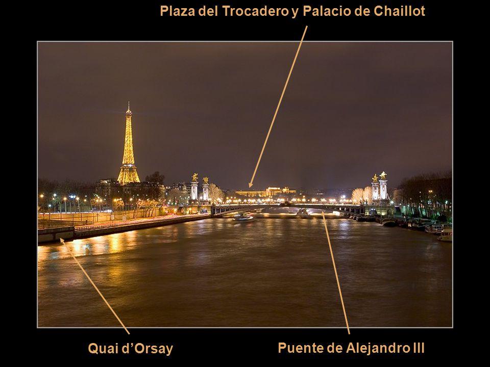 Plaza del Trocadero y Palacio de Chaillot