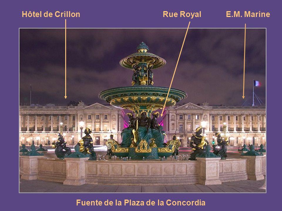 Fuente de la Plaza de la Concordia