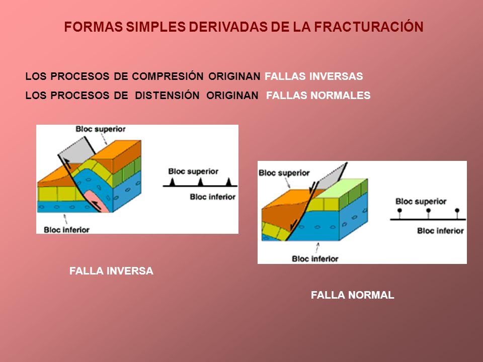 FORMAS SIMPLES DERIVADAS DE LA FRACTURACIÓN