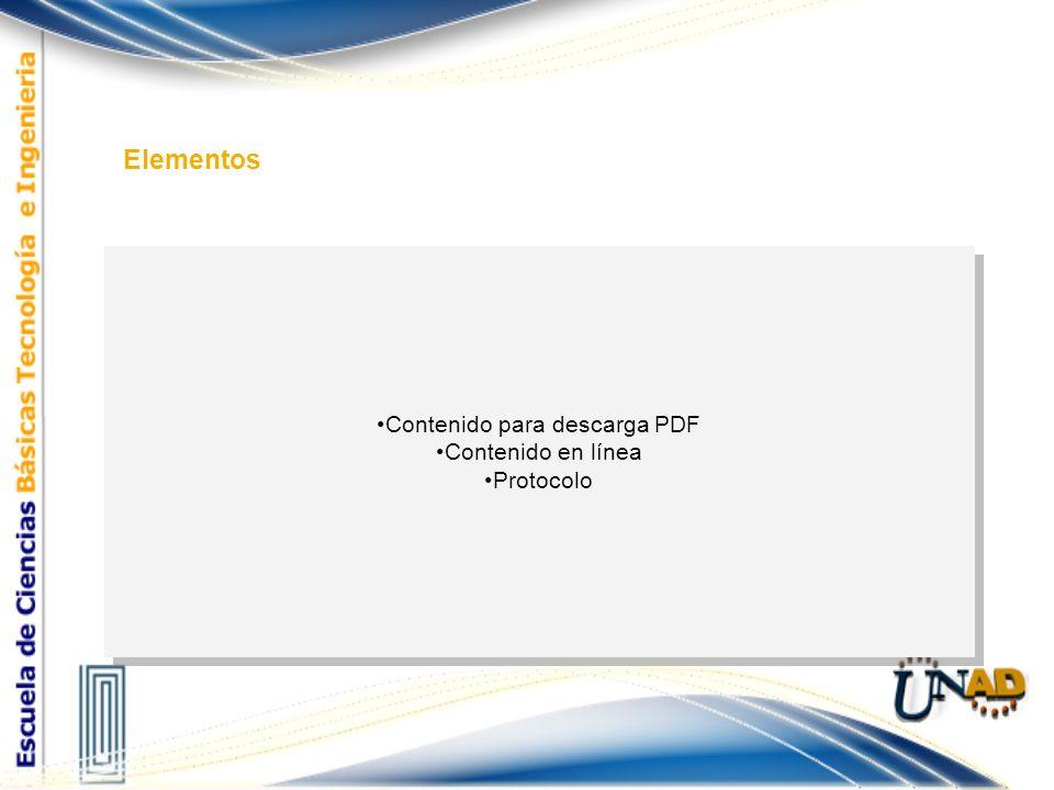 Contenido para descarga PDF