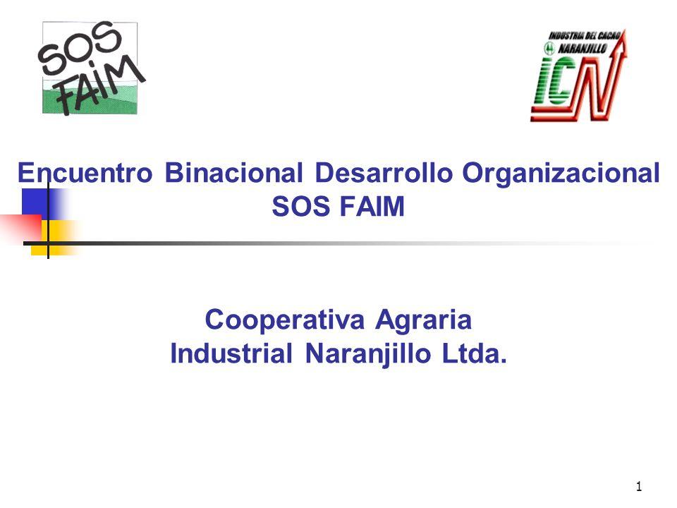 Encuentro Binacional Desarrollo Organizacional SOS FAIM