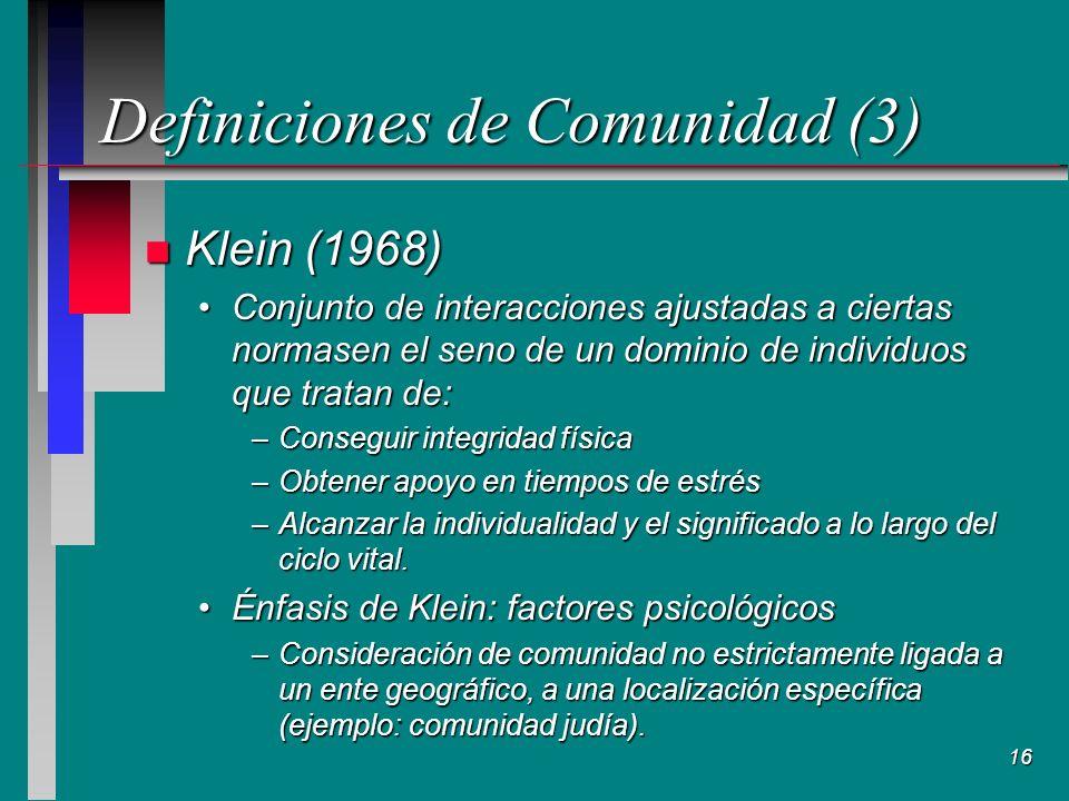 Definiciones de Comunidad (3)