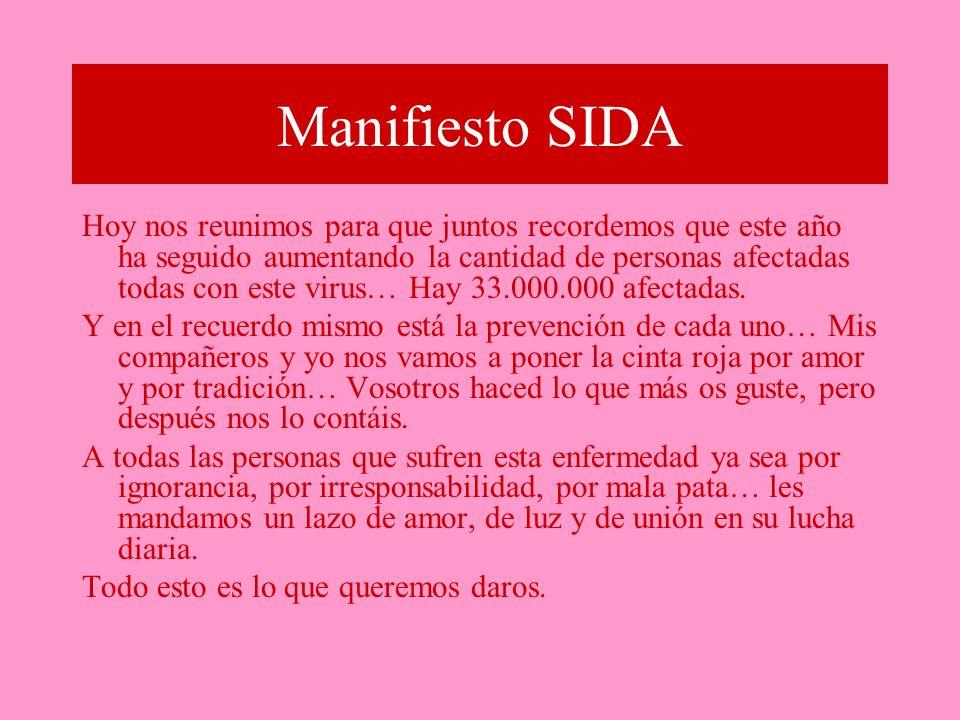 Manifiesto SIDA