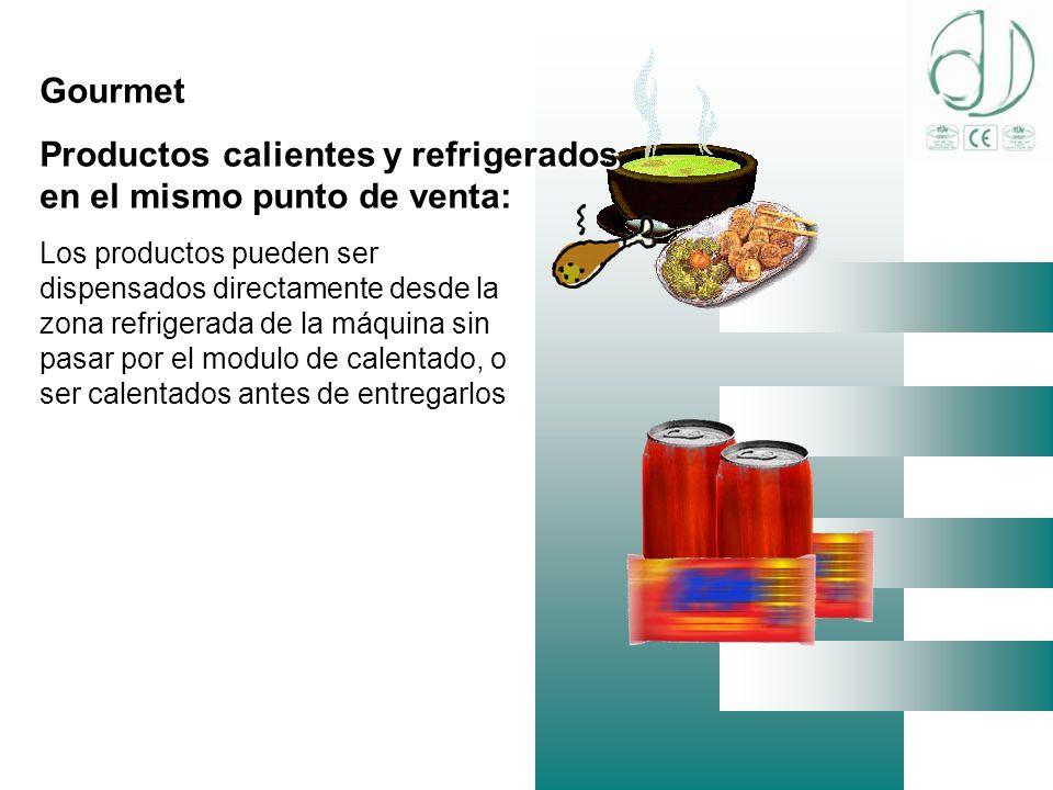 Productos calientes y refrigerados en el mismo punto de venta: