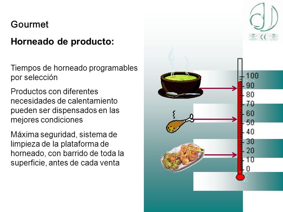 Gourmet Horneado de producto:
