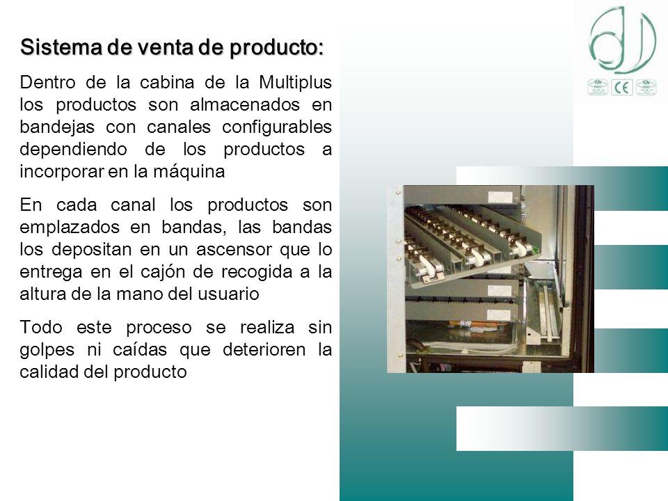 Sistema de venta de producto: