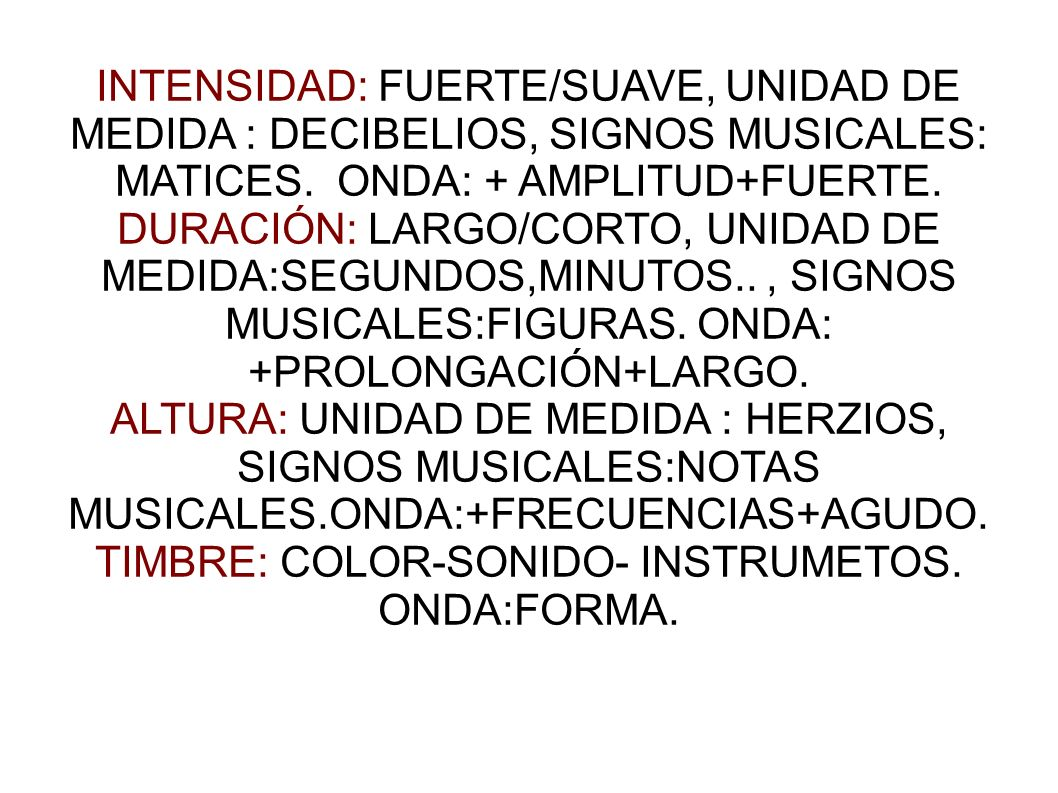 TIMBRE: COLOR-SONIDO- INSTRUMETOS.