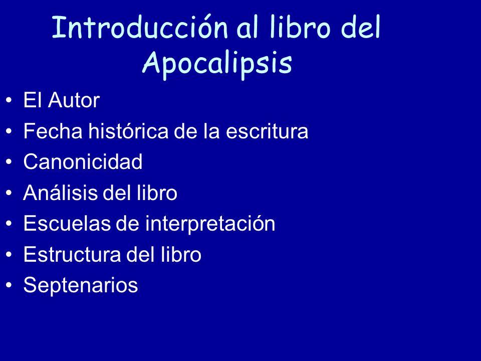 Introducción al libro del Apocalipsis