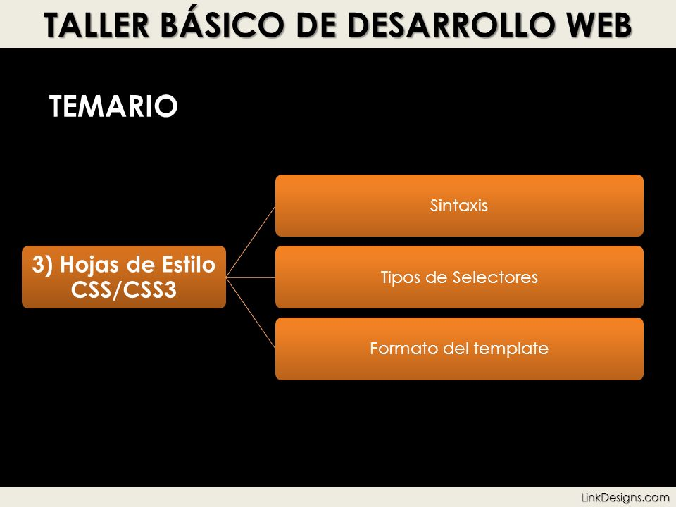 TALLER BÁSICO DE DESARROLLO WEB