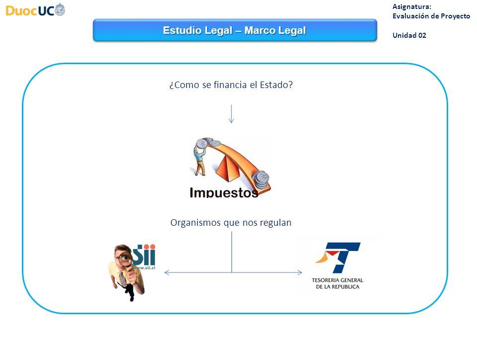 Estudio Legal – Marco Legal