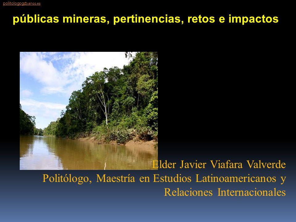 Elder Javier Viafara Valverde