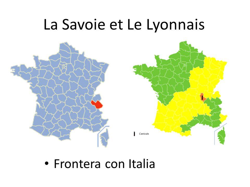 La Savoie et Le Lyonnais