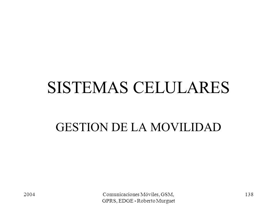 GESTION DE LA MOVILIDAD
