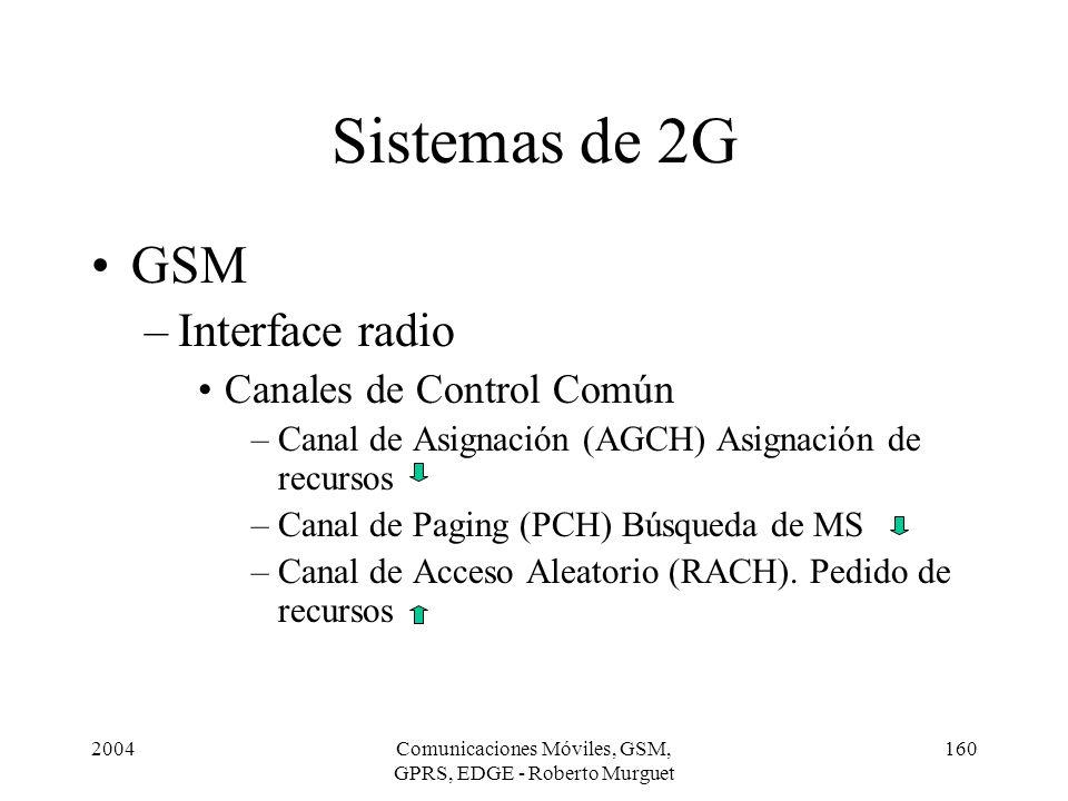 Comunicaciones Móviles, GSM, GPRS, EDGE - Roberto Murguet