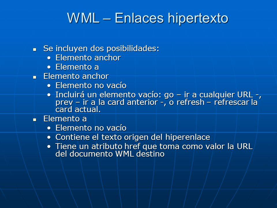 WML – Enlaces hipertexto